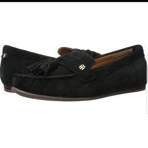 Tommy Hilfiger Suede Leather Loafers